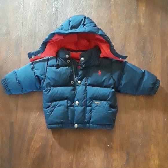 a46bb8956 Polo Ralph Lauren Baby Boy Winter Jacket 12M. M_5ace3da884b5ce311c39f21f